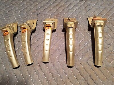 Vintage Oil Can Tool Opener Spouts Funnels lot of 5