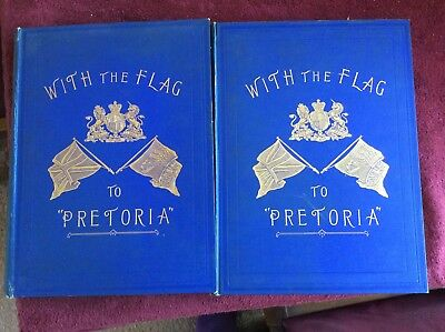 WITH THE FLAG TO PRETORIA . The History Of The Boer War 1899-1900. Vols. 1 & 2