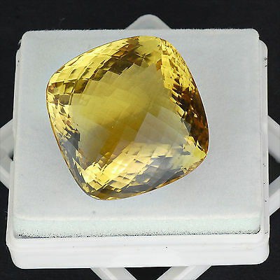 VVS 239 Cts Certified Huge Untreated World Class Natural Citrine ~ Cushion Cut ~