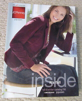 2006 JC Penney Fall & Winter Catalog, 971 Pages, Great Fashions & Home Decor!