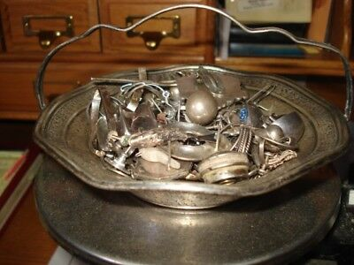 Scrap Sterling Silver Jewelry Lot Total Weight 339.5 Grams