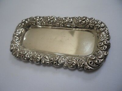 small sterling silver tray