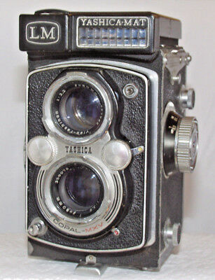 Yashicamat LM Twin Lens Reflex Camera for SPARES OR REPAIRS ONLY - NO RETURN