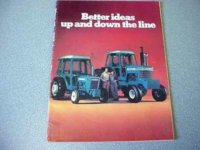 Ford 1600 to 9700 Farm Tractor (Full Line Buyers Guide Style) Brochure       lw