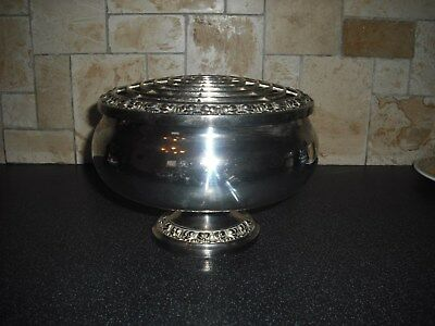 Extra Large Ianthe Silver Plated Rose Bowl