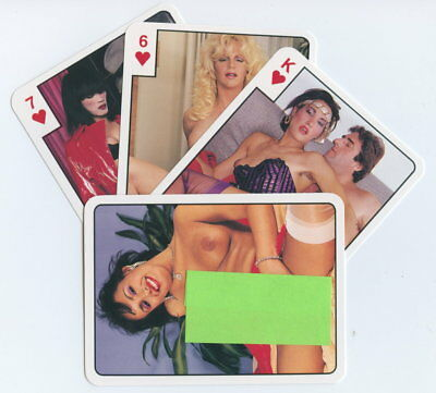 Spielkarten playing cards Pin-Up adult Nude Erotic Sexy erotik France E 8.43