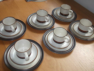 Denby Tea Set For Six