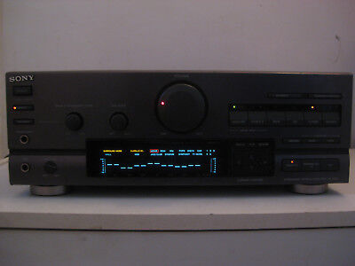 """Vintage Ampli""""""""sony Ta-D607""""""""integrated Stereo Amplifier"""