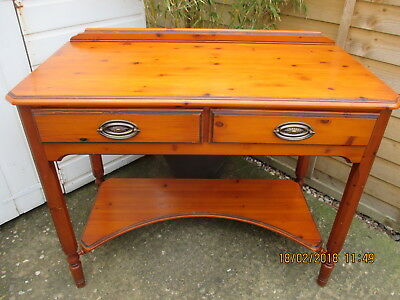 Side Table/desk  Quality French Style  Mahogany  Ducal Superb Condition