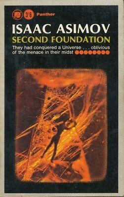 Isaac Asimov - Second Foundation - Science fiction book