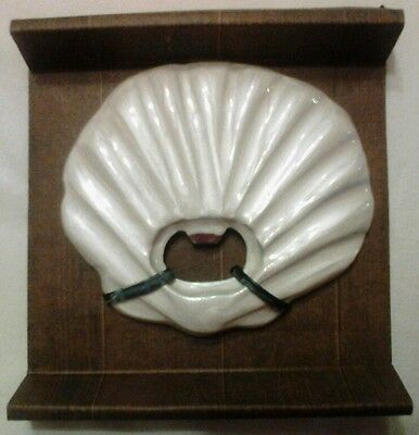 Tommy Bahama Pearl White Sea Shell Bottle Opener - New in Box