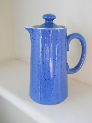 Moorcroft powder blue hot water jug