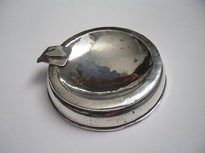 antique sterling silver ashtray, Birmingham