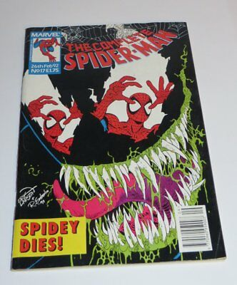 Marvel Comics The Complete SPIDER-MAN 26th Feb 1992 No 17