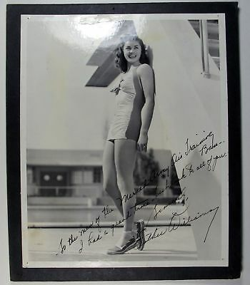 WWII Ester Williams Autographed Photo