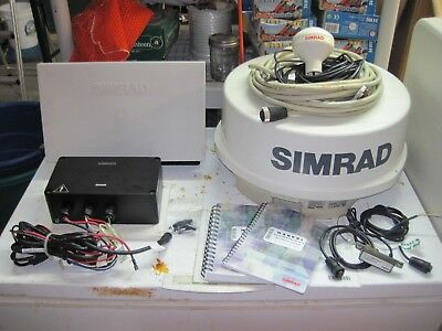 Simrad RB714A Radar Dome with 30' Radar cable Excellent (ONLY RADAR DOME)
