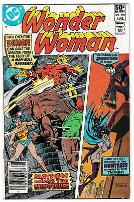 WONDER WOMAN #282 (VF) JOKER! THE HUNTRESS! DEMON! 1981 DC Comic