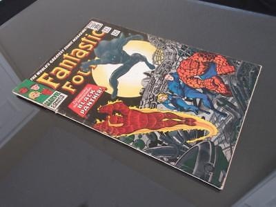 Fantastic Four #52 MARVEL 1966 - 1st app The Black Panther -Jack Kirby, Stan Lee