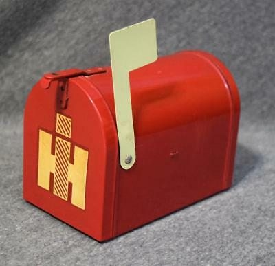 Vintage IH International Harvester Red Mailbox Bank