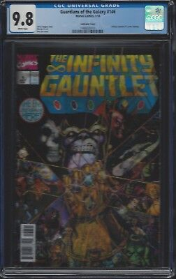 Guardians of the Galaxy #146 Lenticular__CGC 9.8__Infinity Guantlet #1 homage