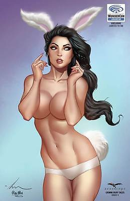 Grimm Fairy Tales V2 #4 Wondercon Naughty Exclusive - NM or better