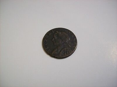 1787 Colonial Connecticut Copper, Mailed Bust Facing Left