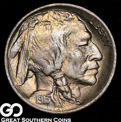 1913 Buffalo Nickel, Type 1 First Year Date, Nice Coin!
