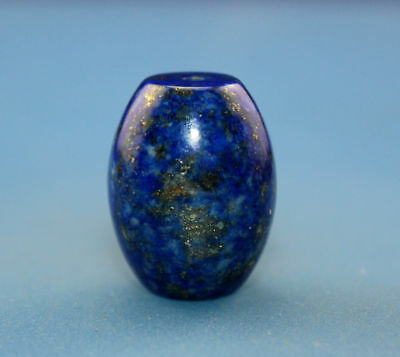 20*15 mm Antique Dzi Lapis lazuli old Bead from Tibet **Free shipping**