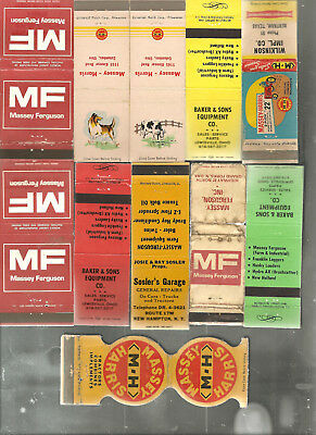 16 Massy Ferguson-Harris Matchbooks