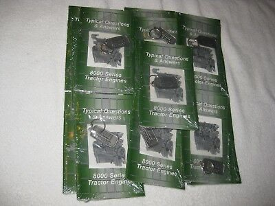 10 John Deere Key Chains 8000 Series Tractor Engines Typical Questions & Answers