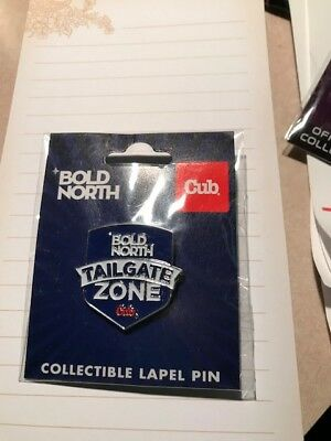 NFL Super Bowl 52 LII 2018 Lapel Trading Pin Bold North Tailgate Zone Cub Foods