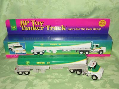 BP Toy Tanker Truck ~ 1994 Limited Edition ~ has lights and sound ~ with box