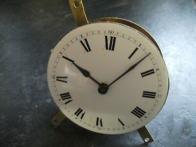 Antique French Platform Escapement Clock Movement, Full Working Order,