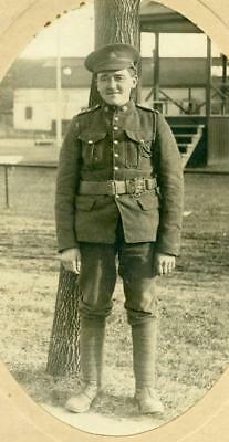 Canada Wwi: Cabinet Picture Of A Young Lieutenenant. Ref:ban14