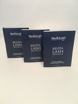 Revitalash Advanced Eyelash Conditioner Wimpernserum 3 x 0,75 ml Sample Size
