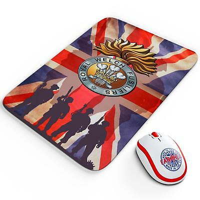 Royal Welch Fusiliers Mouse Mat Pad British Army Veteran Gaming Computer VP24