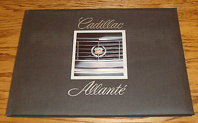 Original 1987 Cadillac Allante Deluxe Hardcover Coffee Table Book Brochure 87