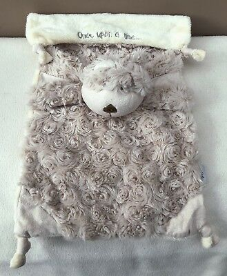 Mamas and Papas Once Upon A Time Crumble Teddy Bear Comforter Soft Toy Baby