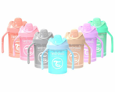 TwistShake Ergonomic, Spill-free, Fruit Infuser, Mini Cup, 230ml Sippy Cup