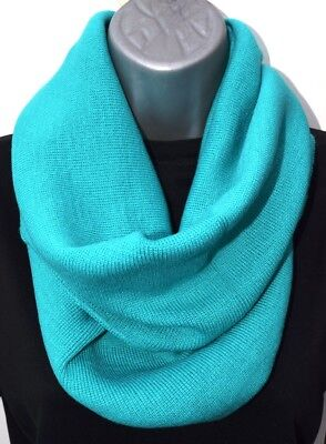 55 Snoods In 5 Colours Circular Scarves Knit Scarf Green Blue Wholesale Job Lot