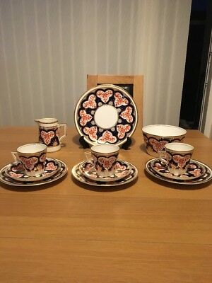 Wileman Foley Pre Shelley Imari Pattern Part Tea Set 3931