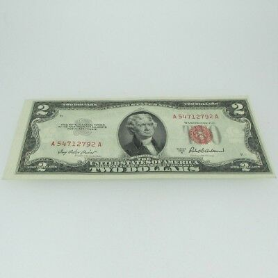 1953 A Red Seal United States Two Dollar Note 600676
