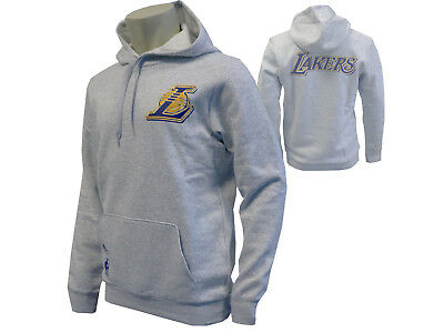 adidas Kapuzensweatshirt Los Angeles Lakers grau NBA LA GFX Team Hoody S - XXL