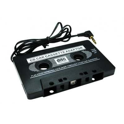 3.5mm Jack Stereo to Car AUX Audio Cassette Tape Adaptor Converter in Black