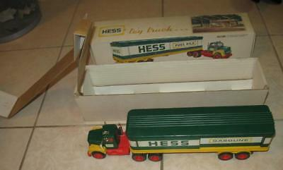 60s 70s VINTAGE MARX TOYS HESS GASOLINE OIL TANK TRAILER TRUCK MINT IN THE BOX