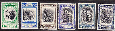 Costa Rica 1950 Agriculture Issues Used
