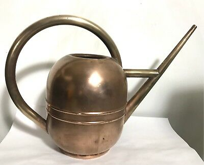 Walter Von Nessen Chase Art Deco Copper and Brass Watering Can -circa 1930
