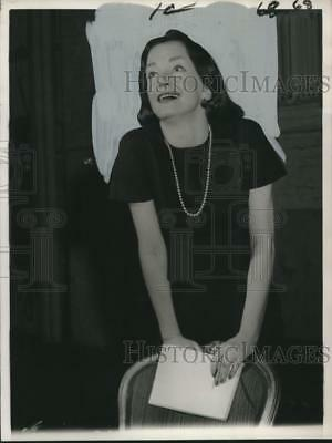 1960 Press Photo Nina Foch, TV, film and stage actress. - noo15802