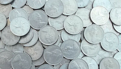 BULK / JOB LOT of 40 Large Decimal 10p Coins - Ideal for Old Slot Machines
