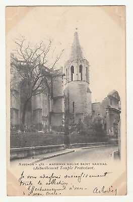 *** AVIGNON - Ancienne Eglise Saint Martial *** 1903 - CPA 1915